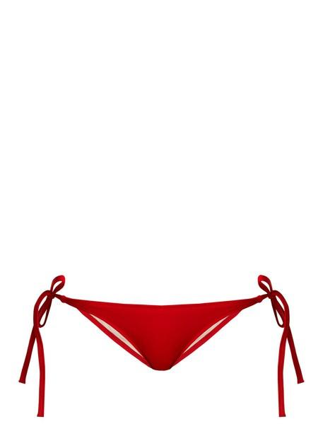 bikini red swimwear