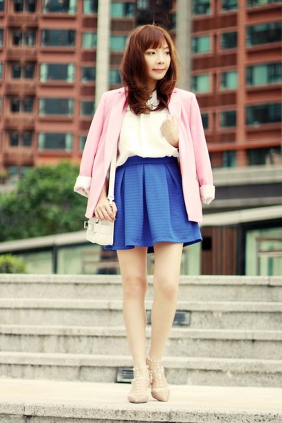 mochaccinoland jacket shoes blouse skirt jewels