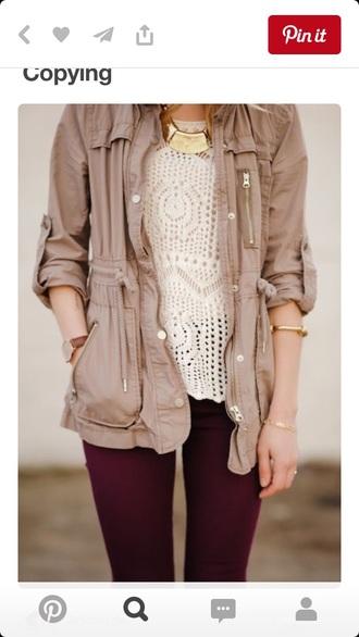 jacket beige beige jacket