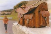 leather,bag,orange bag