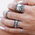 Boho Style Rings Set|Disheefashion