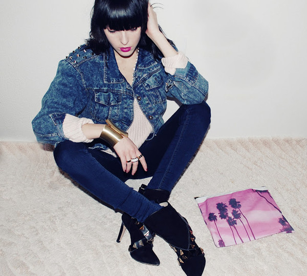 carolina krews jewels jacket bag shoes sweater