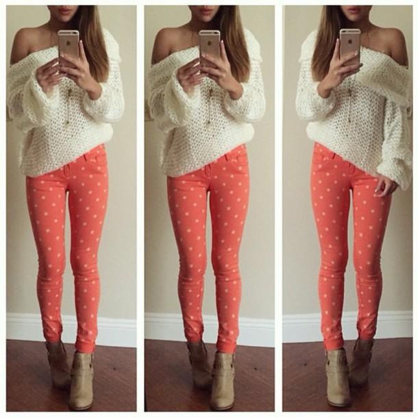 dress jeans blouse sweater