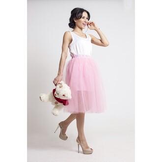 skirt pink luiboom pink skirt