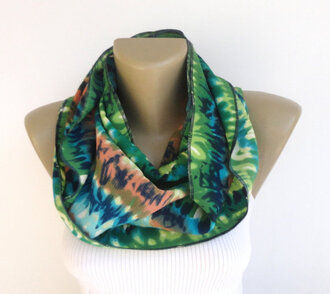 scarf scarves green pastel green women scarves women scarf fashion summer spring 2014 scarfs trends 2014 scarf best gifts moms gift birthday gift soft grunge eternity scarf infinity scarf