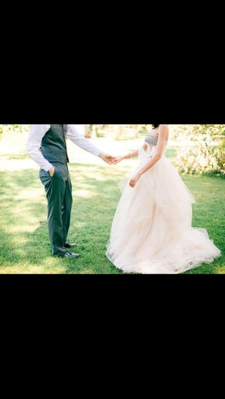 dress gown white dress clothes: wedding