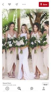 dress,beach wedding,bridesmaid,bride dresses,long bridesmaid dress,wedding,nude,nude dress,marriage