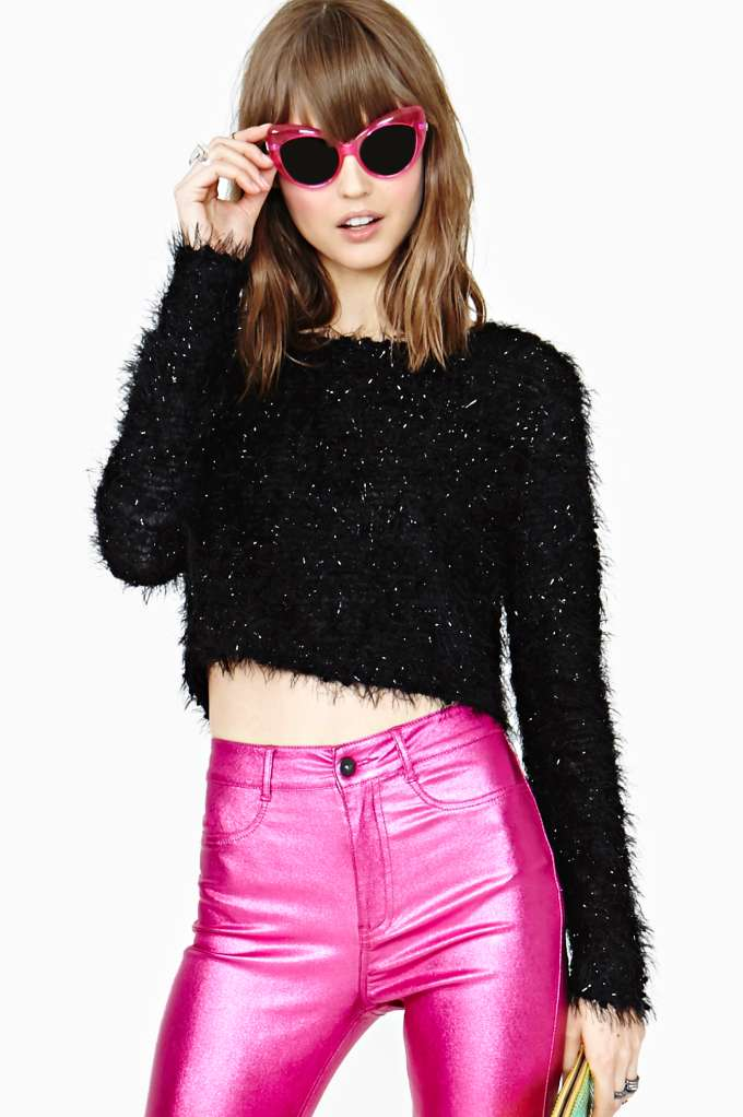 MinkPink Hissy Fit Crop Top in  Clothes at Nasty Gal