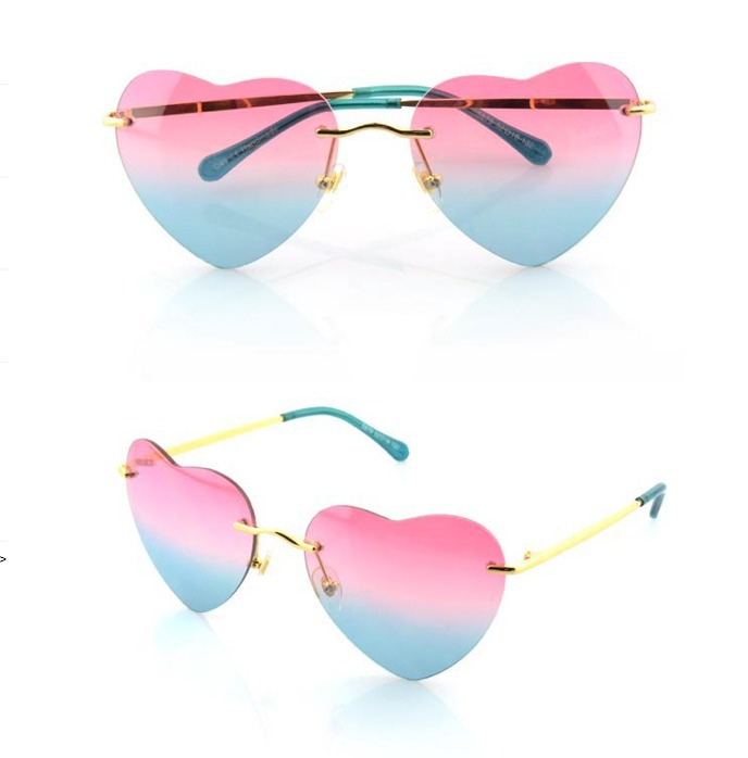 7539732ce3 Chlo Women s Pink Poppy Heart shaped Sunglasses Source · tinted heart  sunglasses heart shaped sunglass gradient sunglasses