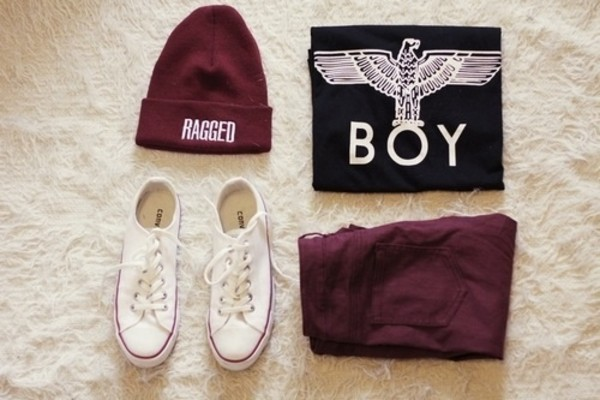 t-shirt converse hat jeans sweater pants shirt london boy black sweet cool shirts chill amazing white summer pretty vans graphic tee summer outfits white converse beanie boy london outfit boy sweater boy