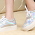 size 35-40 sliver hologram oxford platform sneaker from MoLa_MoLa on Storenvy