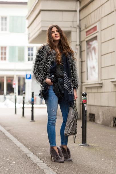 the fashion fraction blogger jacket shirt dress jeans bag shoes