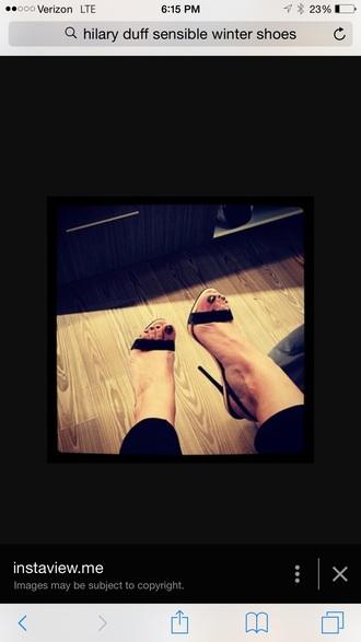 shoes instagram black heels