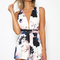 Vypers playsuit - floral