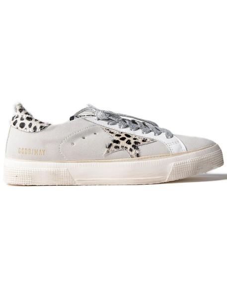 Golden goose sneakers. sneakers suede white shoes