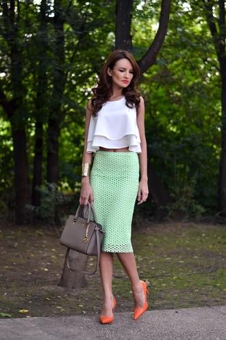 bag shoes skirt blouse jewels my silk fairytale