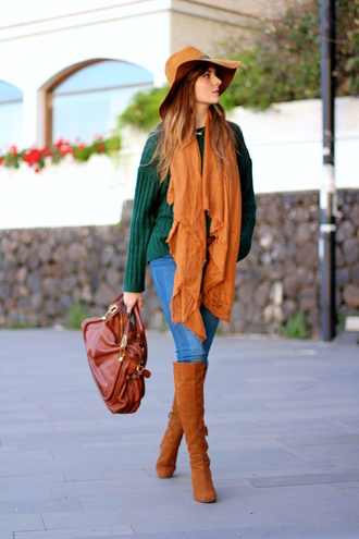 marilyn's closet blog blogger jeans shoes bag scarf hat