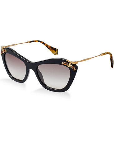 MIU MIU Sunglasses, MU 03PS - Women - Macy's