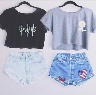 blouse grey t-shirt crop tops