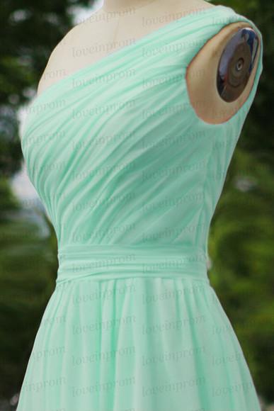 bridesmaid dress handmade women mint dress mint bridesmaid dress mint prom dress party dress weddings