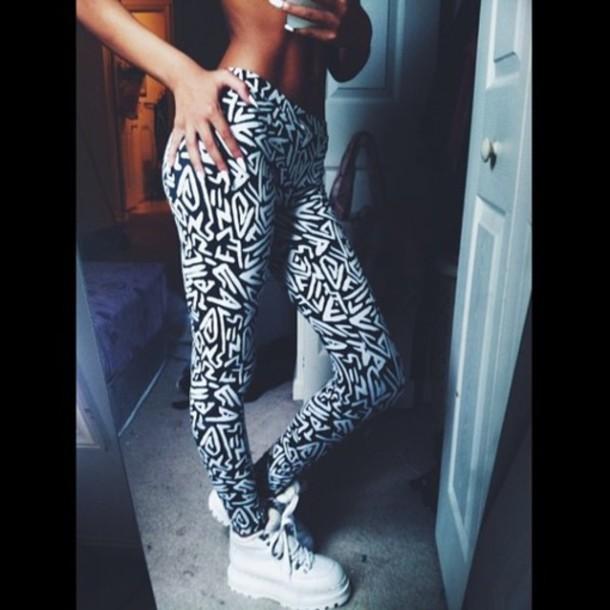 Leggings: fashion, style, beautiful, stylish, me, cute ...