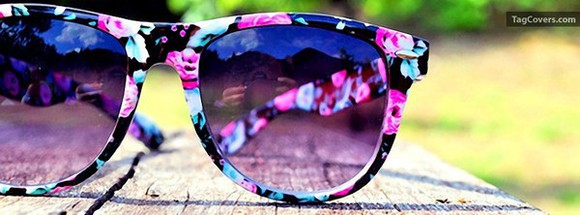 navy blue sunglasses flower sunglasses