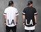 Elongated la 1/2 long t shirt extended black,white s,m,l tee696