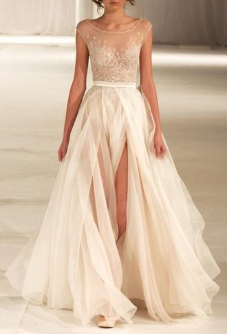 dress wedding paolo sebastian elegant runway 2014 fashion beautiful classy