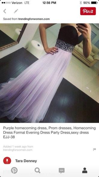 dress purple dress