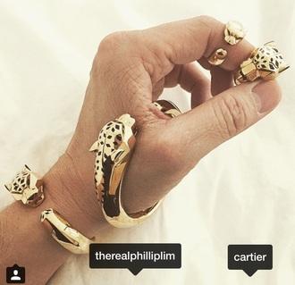 jewels cartier tiget gold diamonds phillip lim