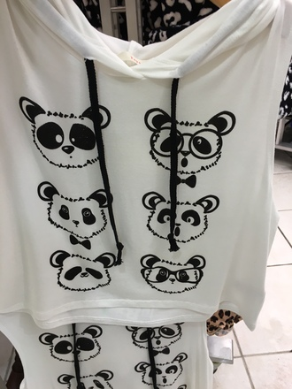 shirt papaya white white t-shirt white tank top black black and white sleeveless sleeveless top tank top cute top sweatshirt hoodie cropped hoodie kawaii hoodie kawaii kawaii grunge animal print animal face print animal
