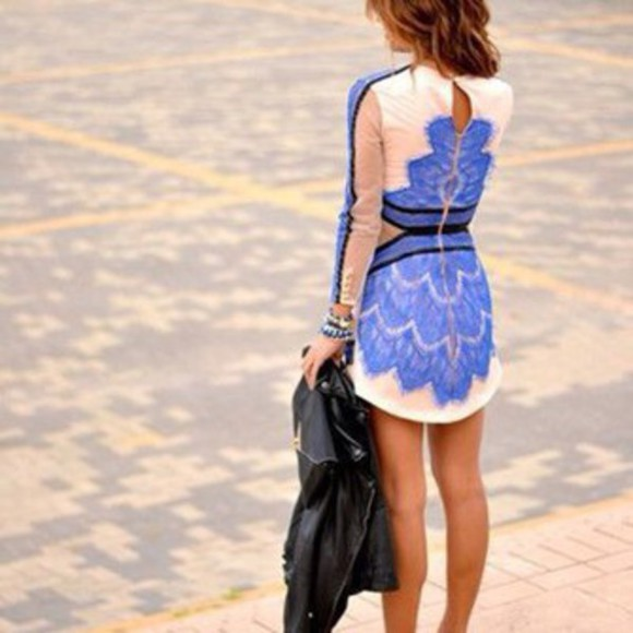blue and white blue and white dress