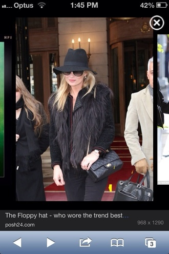 hat kate moss