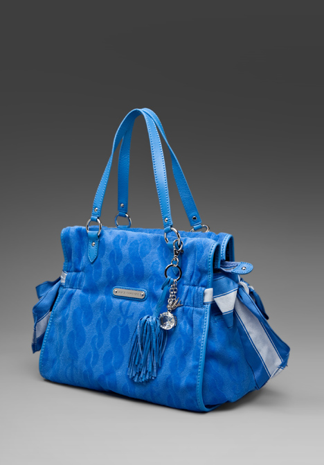 Juicy couture ms. daydreamer handbag in blue azure at revolve clothing