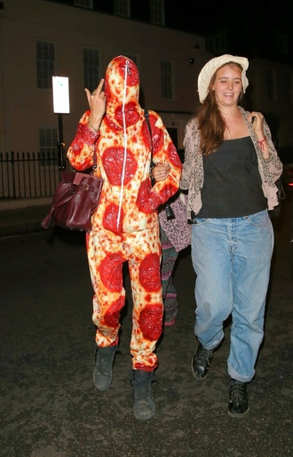 jumpsuit pizza