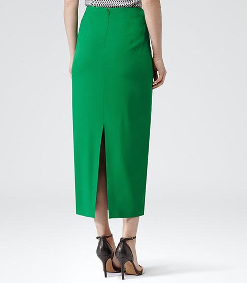 Bryant Gem Straight Midi Skirt - REISS