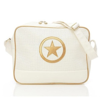bag white gold converse