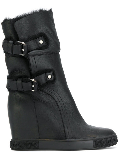 women ankle boots black shoes