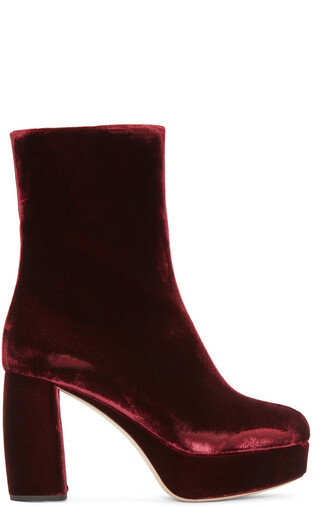 boots velvet boots velvet burgundy shoes