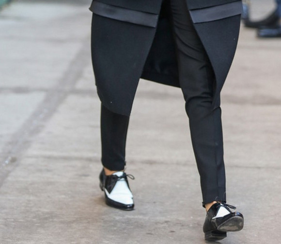 shoes oxfords victoria beckham flats