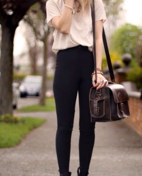 pants style bag blouse