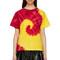 Kwaidan editions - red & yellow tie-dye t-shirt