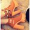 Open toe platform sandals - 2 colors