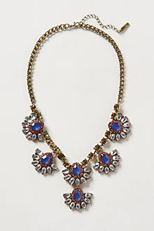 Fanned Petal Necklace