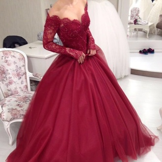 dress red burgundy red dress red prom dress prom dress burgundy dress lace dress long dress long sleeve dress embellished dress embroidered dress