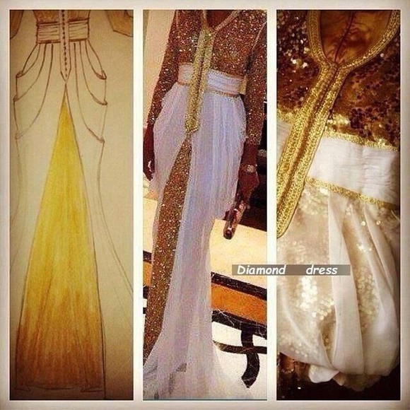 dress long prom dresses prom dress gold cate blanchett black dress dubai habibbi dubai dubai diamond female classy gold sequins a-line wedding dresses dress