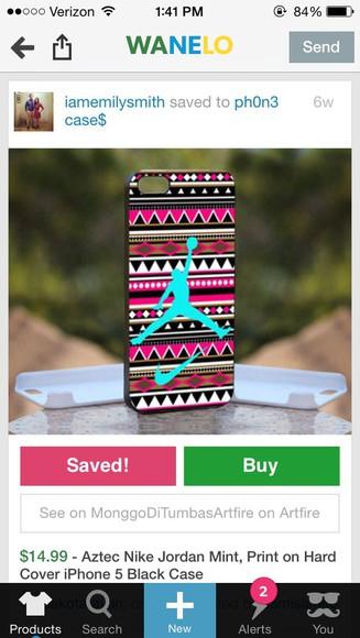 phone case aztec jordan
