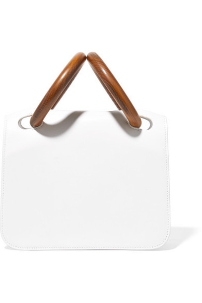 Roksanda - Neneh Leather Tote - White