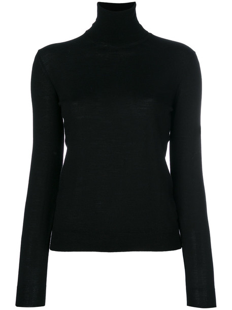 Ballantyne sweater turtleneck turtleneck sweater women black wool