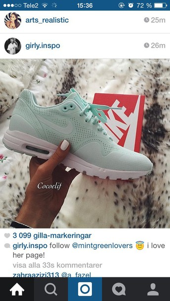 shoes mint green shoes air max nike air max dope sneakers nikes